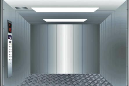 فترة كبيرة من فتح الباب قوي ودائم آلة مصعد البضائع غرفة